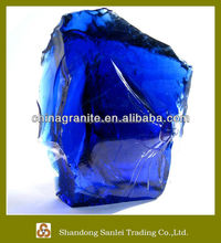 Best quality natural landscaping scrap glass cullets price