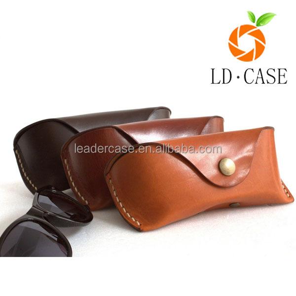 custom leather sunglass case/neoprene glasses box/wrapped glasses case