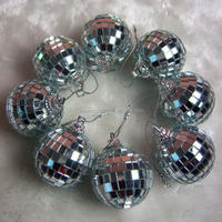 3cm-60cm Small Cheap Disco Mirror Ball Christmas Roating Glass Balls