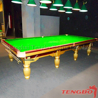 OEM snooker table standard size 12ft snooker table