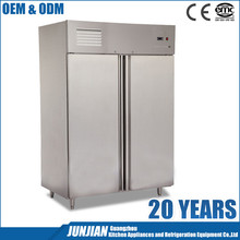 Double Door Commercial Refrigerator Stand / Two Door Refrigerator / European Style Refrigerator