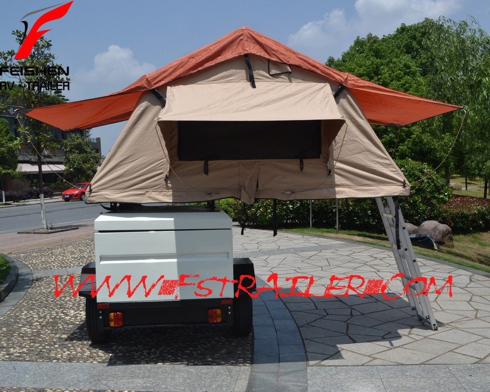 Roof Tent Mini camper trailer FS-OF1customized trailer
