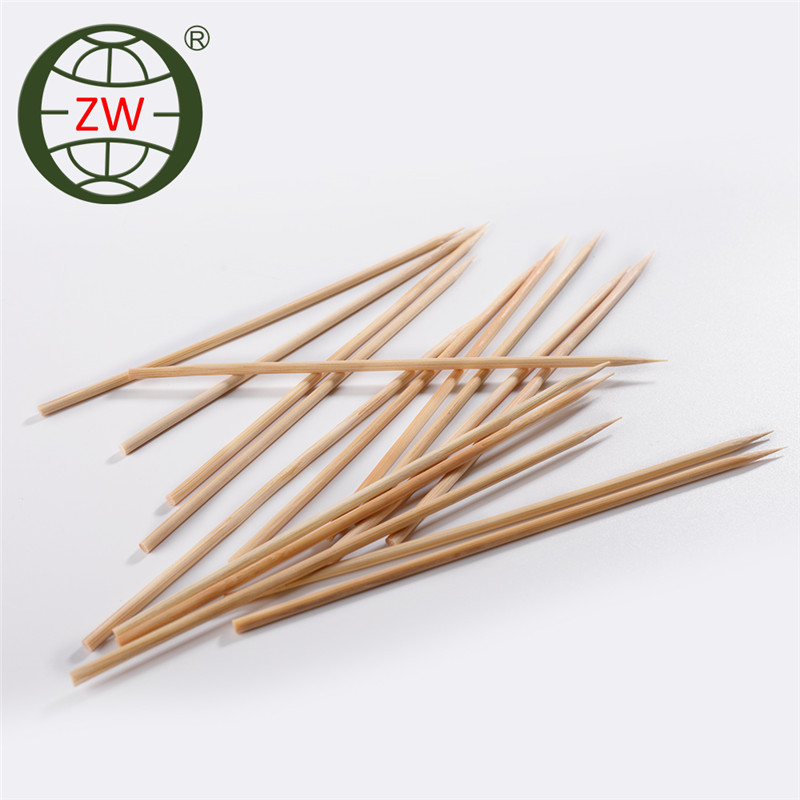 factory directly supply party food picks, bamboo stick for cake