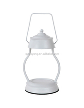 Classic Oil Rubbed White wholesale 110V/220V wax electric incense burner lantern fragrance hurricane very candle warmer lamp
