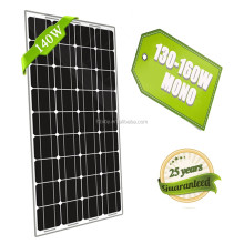 High Efficiency 140w Ce/tuv Monocrystalline Silicon Photovoltaic Solar Panels,Solar Pv Modules