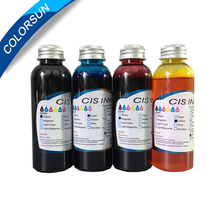 C M Y K 4 Colors Coffee Cake Printer Edible Ink for HP Printer
