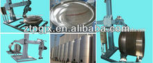 automatic stainless equipment polishing/buffing machine