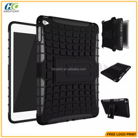 For ipad mini 4 smart cover plastic case inner with soft tpu China supplier