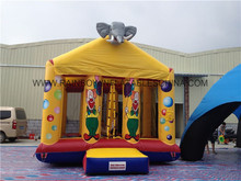 Elephant And Clown Inflatable Jumper,Inflatable Bouncy Castle,Cheap Inflatable Bouncers For Sale