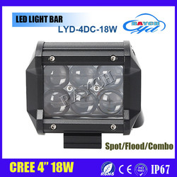 Hot Sale Super Bright 4 Inch 18W Wholesale Offroad mini projector ETI led driving light bars motorcycle