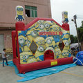Hot inflatable minion bounce house