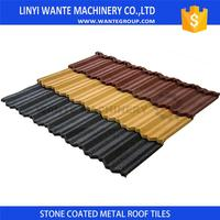 Free Samples classic color stone coated steel roofing tile for promotion