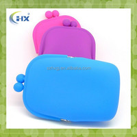 Wholesale silicone fashion ladies hand purse