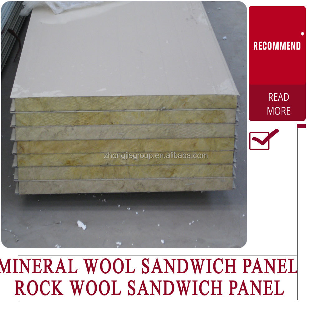 rockwool sandwich prefabricated roof panels insulated aluminum roof panels