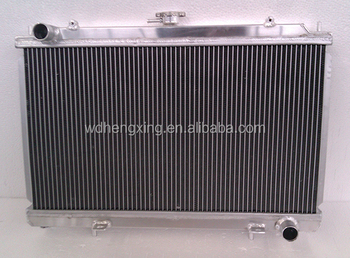 Full Aluminum Radiator For MITSUBISHI EVO 1,2,3 MT