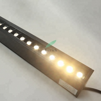 AC100-277V LED linear lamp with prism optic new arrival