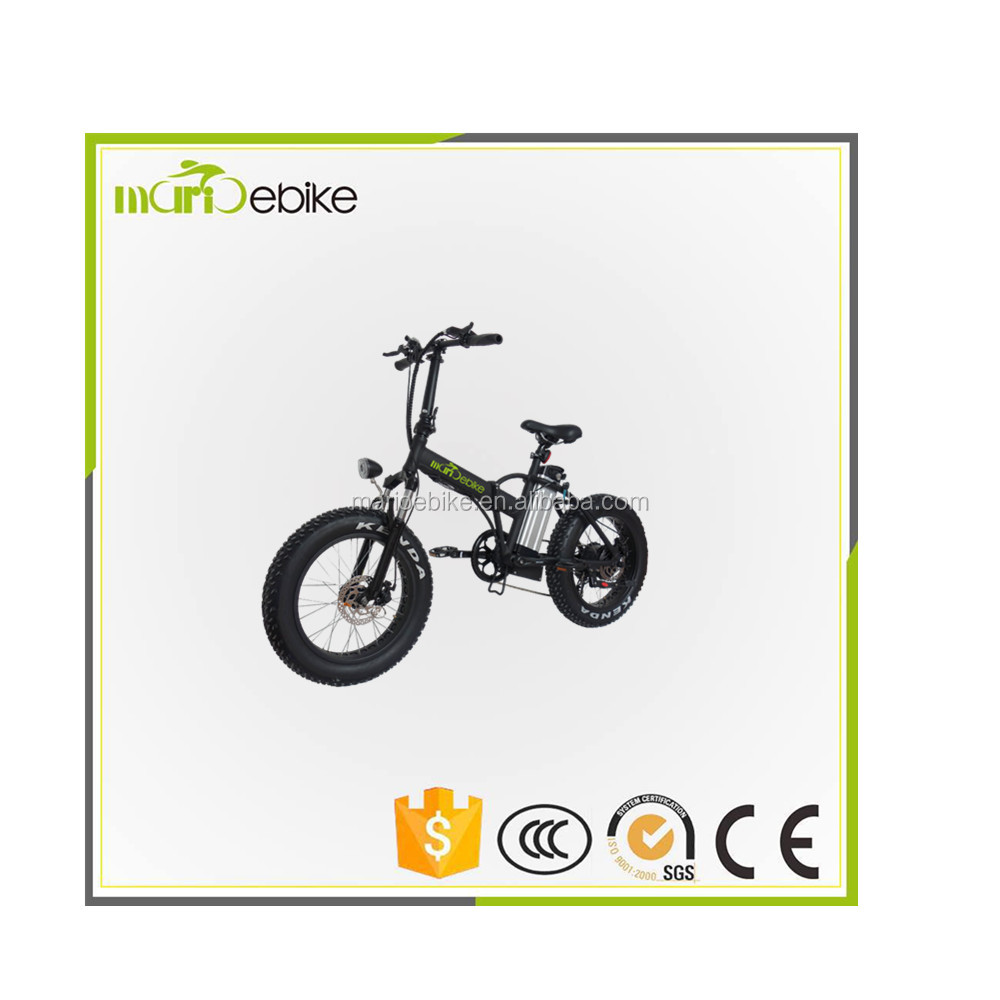 2017 New Brushless Motor and < 35km Per Hour Max Speed folding electric bicycle / ebike / bike
