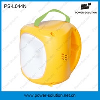 Lithium battery 5 brightness outdoor solar lantern with mobile phone charger