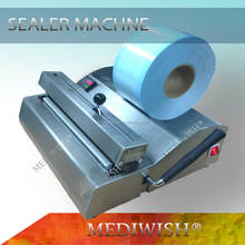 Sealer machine use for medical sealing close flat reels and flat pouch