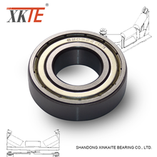 conveyor roller spare parts double iron sealed deep groove ball bearing 6205 ZZ C3 for idler
