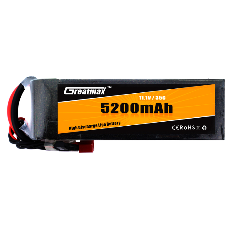Hard Case 22.2V 5400mAh 30C 3S lipo battery for RC Car quadcopter