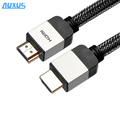 Aluminum shell HIGH SPEED flat hdmi cable support 3D 2160P 4Kx2K Gold plated