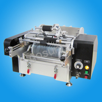 Semi-automatic cold glue labeling machine