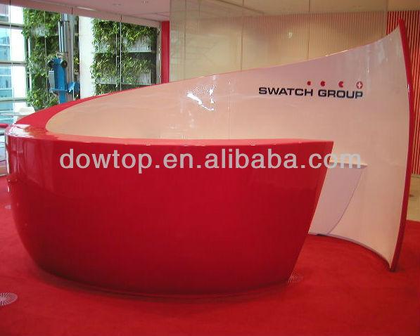 Top ventas iluminado moderna recepción salón, moderno muebles de ...
