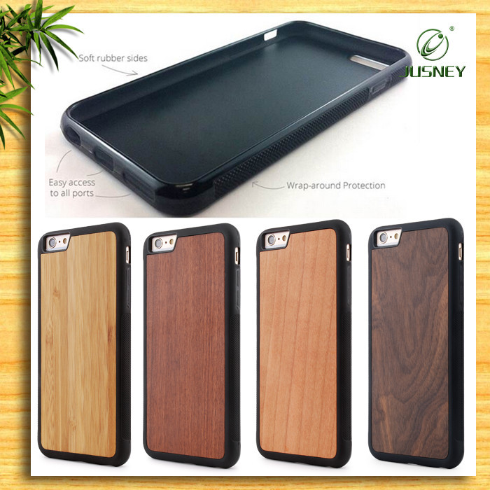 Customize for Iphone 6/for iphone 7 Cell Phone Case 100% real wood wholesale