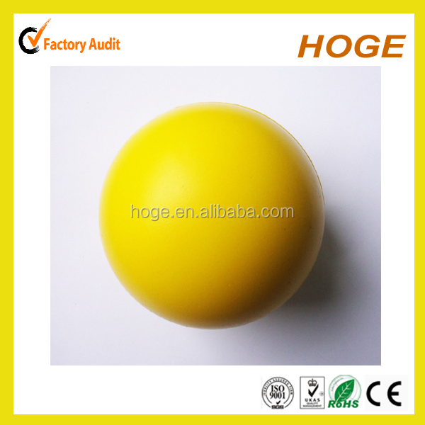 Yellow 63mm Round Shape bulk stress balls