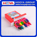 12pcs wholesale cheap stationery Kids multicolor promotion Jumbo Crayon