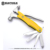 Outdoor lifesaving hand tools glass breaker functional folding hammer