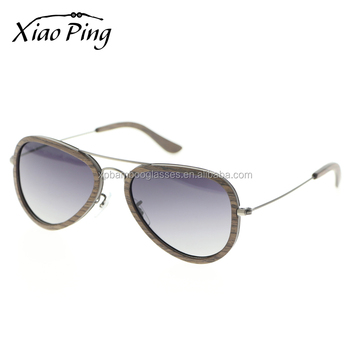 2018 hot sell new men women metal wooden sun glasses