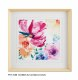 24*24 inches modern wall flower Frame Printed art