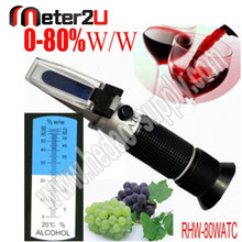 Professional Portable Digital Alcohol Meter Reflectometer