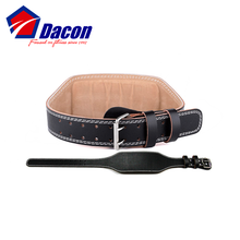 Customized Heavy Gym Weight Lifting Leather Lever Belt