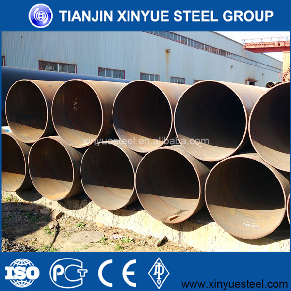 12m Length, API 5L OIL /GAS PIPE LINE /SPIRAL WELDED STEEL PIPE