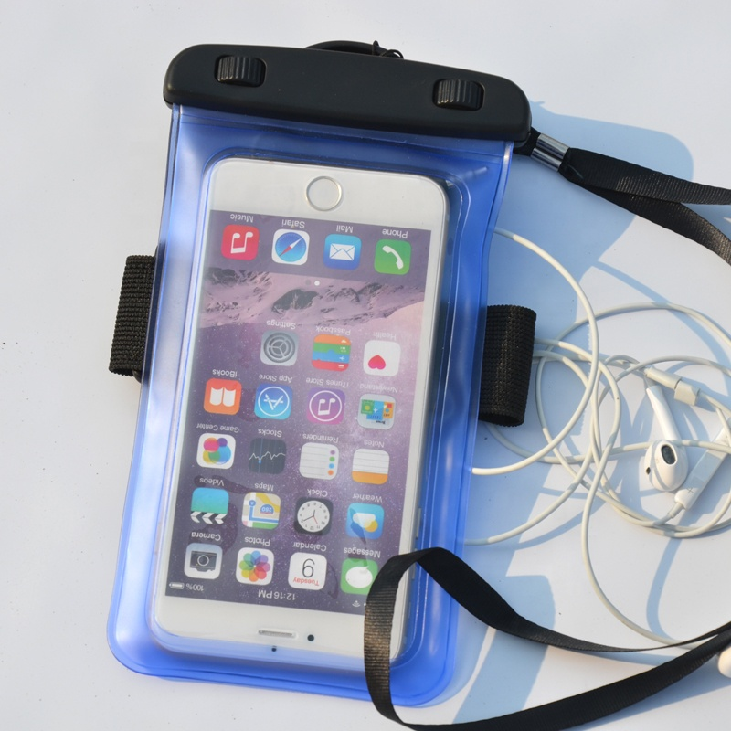 New design clear custom mobile phone pouch waterproof