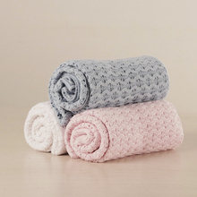 New Design Cotton Knit Baby Blanket