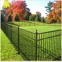 spear tubular 8-10 feet high weather-resistance aluminum fence ornaments