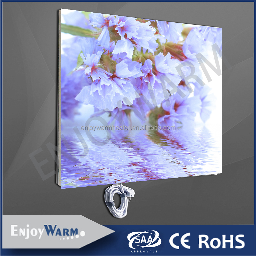 TUV GS CE ROHS SAA ISO9001 IP54 frameless infra heating panel