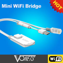 Newest VONETS VAP11N RJ45 WiFi bridge,powerline adaptor
