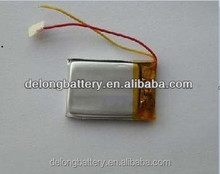 3.7V 110mAh lithium polymer battery 501225 fpr bluetooth China manufacturer
