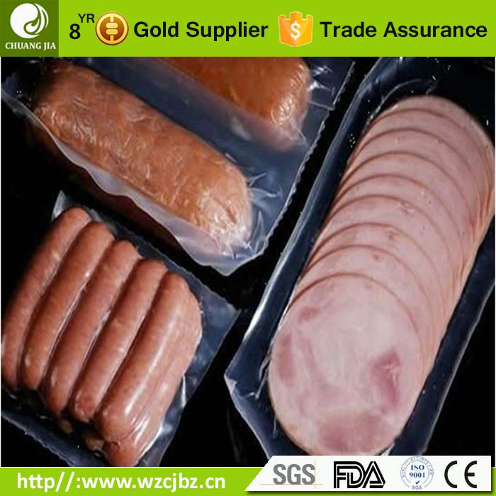 sausage meat hot dog vacuum packing pouch pa pe pouch plastic water oxygen proof bag