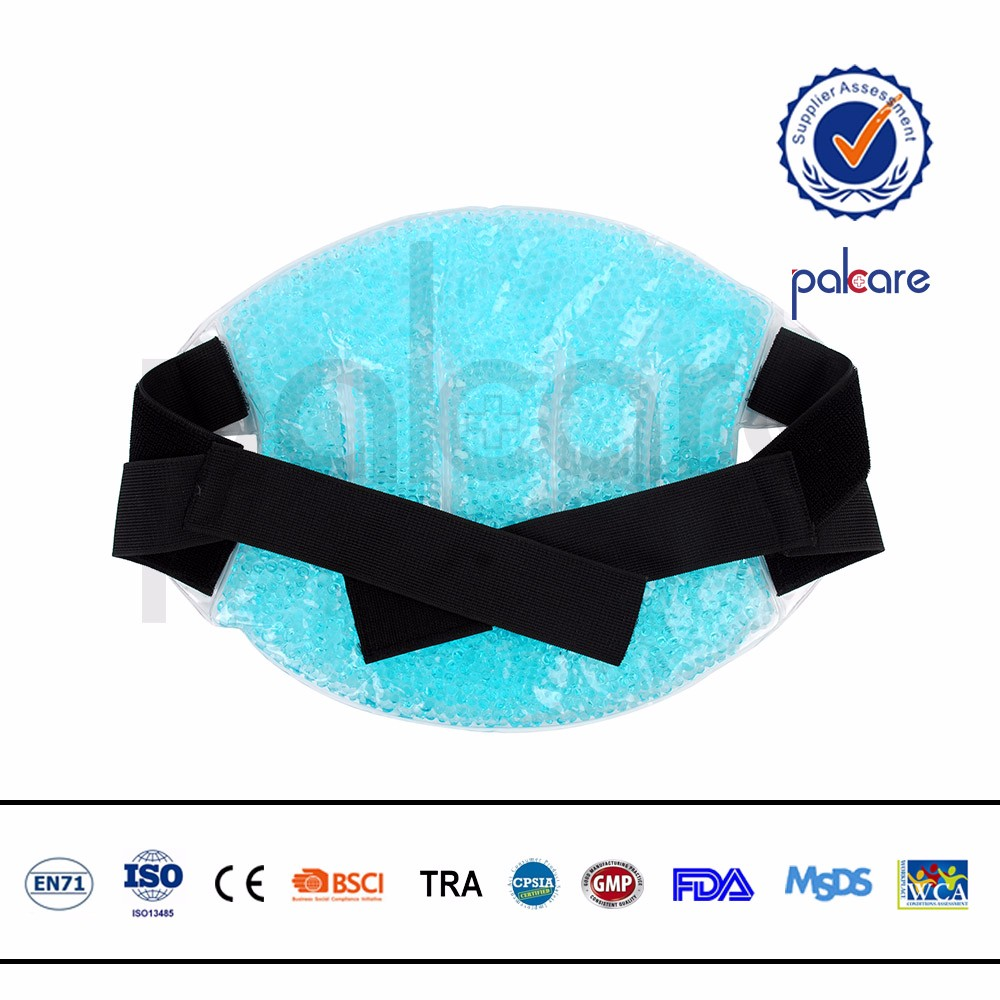Hot cold therapy ice heat support brace back ice bag wrap