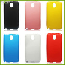 For Samsung galaxy note 3 candy shiny tpu case cover skin housing
