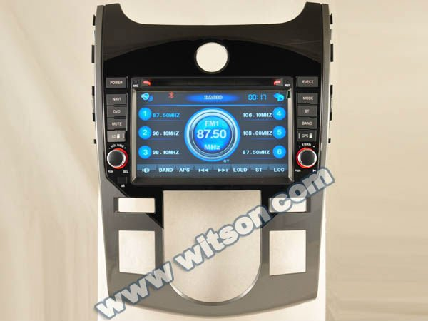 WITSON car audio system for Kia Koup with Built-in TV tuner