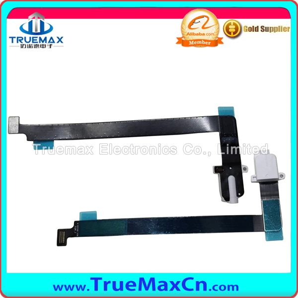 Cheap original audio jack flex cable for ipad pro headphone earphone jack for ipad small parts in stock with free shipping