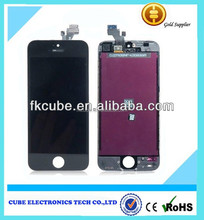 High Quality For iPhone Parts LCD And Digitizer 4'' Touch Screen LCD For iPhone 5G White/Black LT Cold