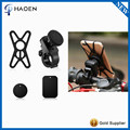360 Degree Rotation Magnetic Bike Phone Mount Bicycle Motorcycle Phone Cradle Holder With Security Band